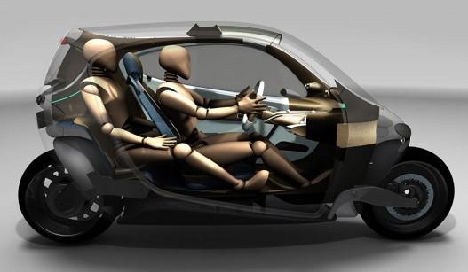 Lit Motors C1 Price >> Lit Motors C-1: The gyroscopic bike that never falls! | Daily Tech Talk