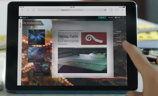 microsoft introduces Sway
