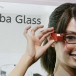 A Toshiba prototype to compete with Google Glass