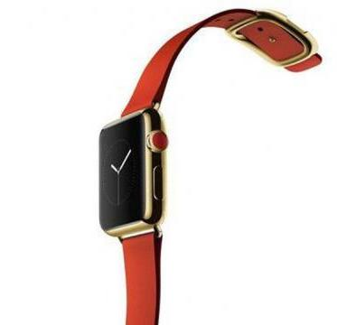 apple gold smartwatch