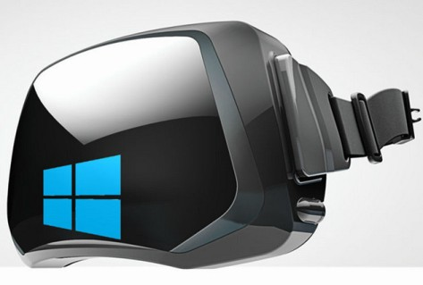 Microsoft virtual reality device