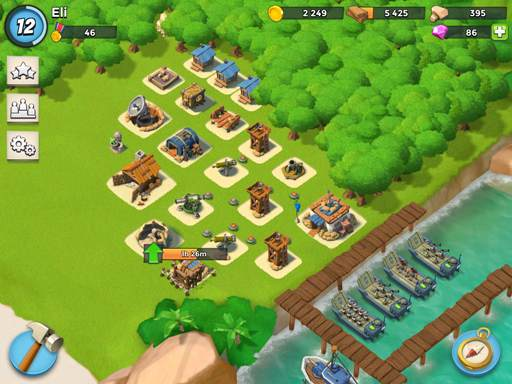 boom beach online game