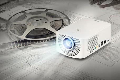 LG Minibeam projector