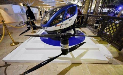 flying cars on dubai